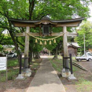 楡山神社鳥居