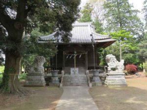 中瀬神社拝殿