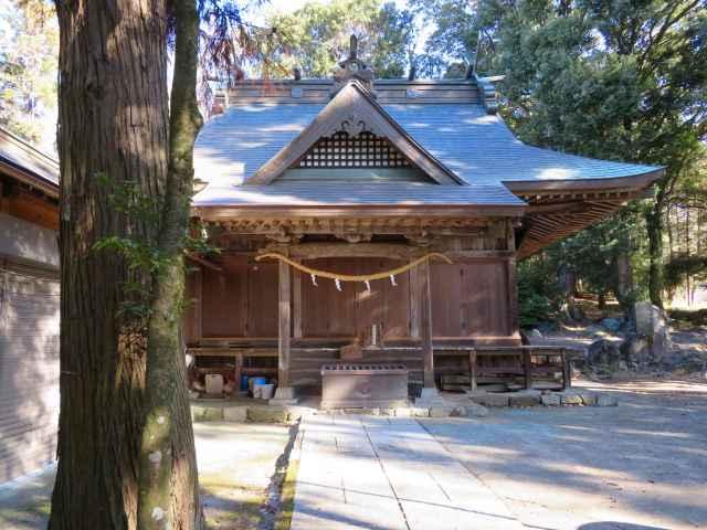 飯名神社拝殿
