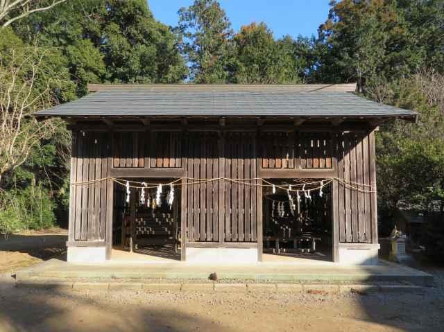 鹿島神社社殿覆屋