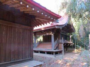 鹿島神社御本殿