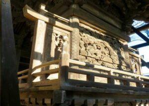 八坂神社背面
