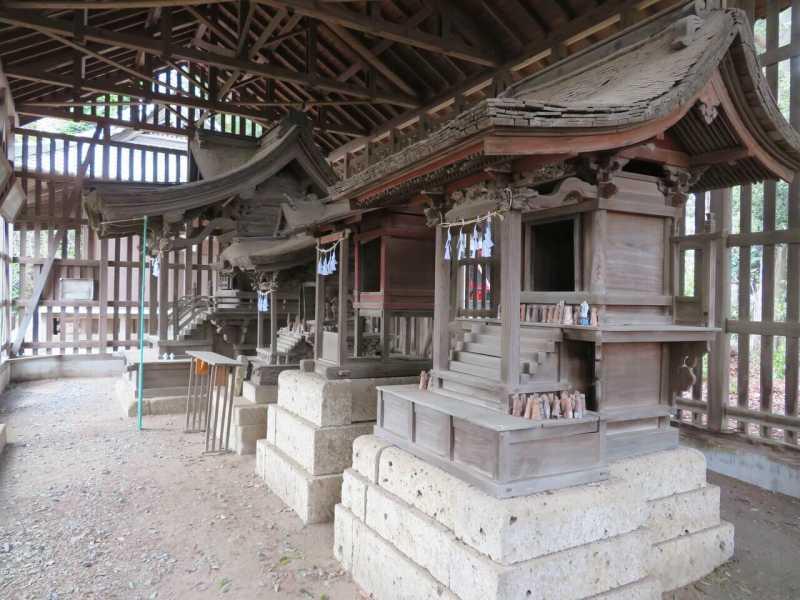 八幡神社境内社群