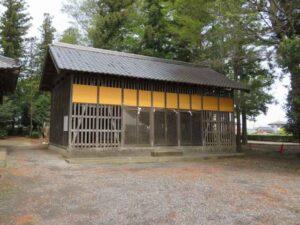 八幡神社境内社覆屋