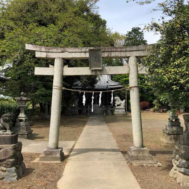 中瀬神社鳥居