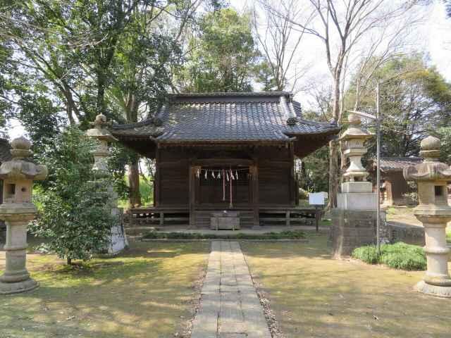糠田氷川神社拝殿