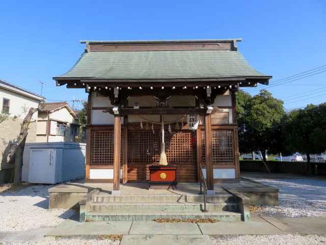 下大久保諏訪神社拝殿