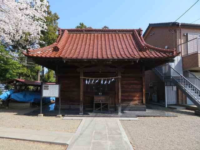 木野目稲荷神社拝殿