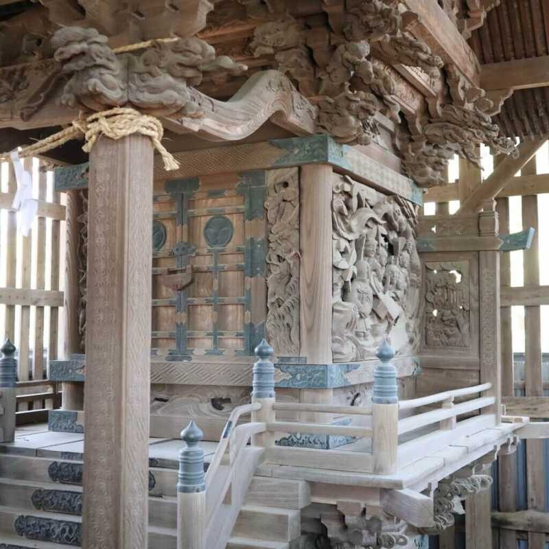 西大澤神社御本殿
