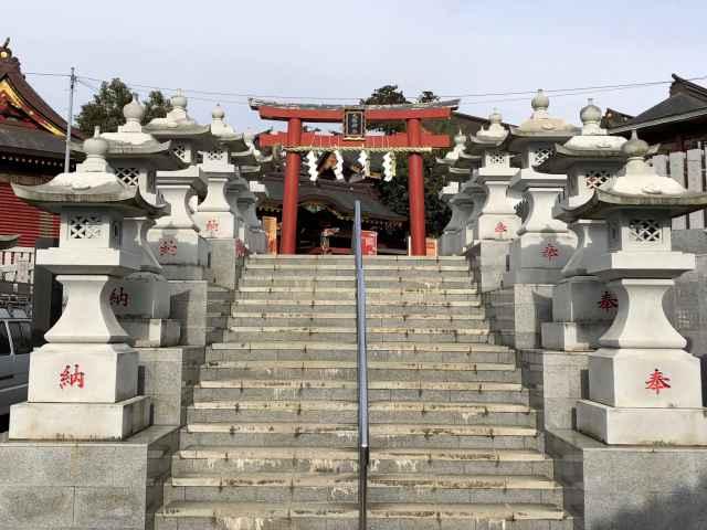 大杉神社鳥居