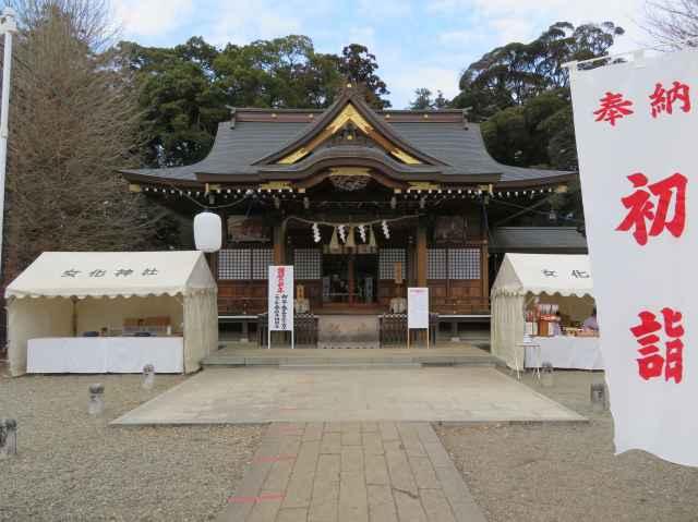 女化稲荷神社拝殿