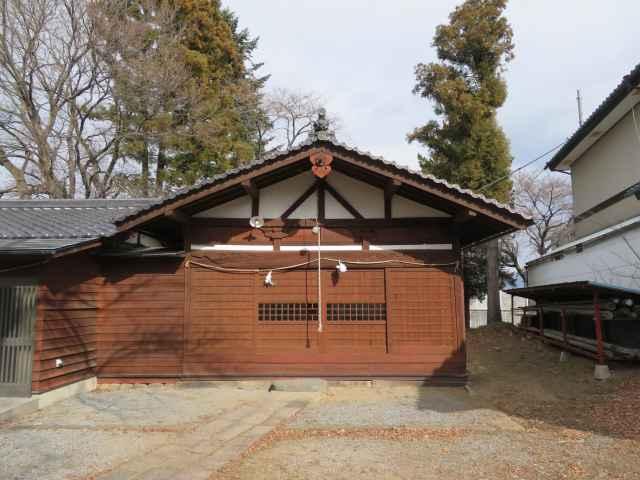 安土部神社拝殿