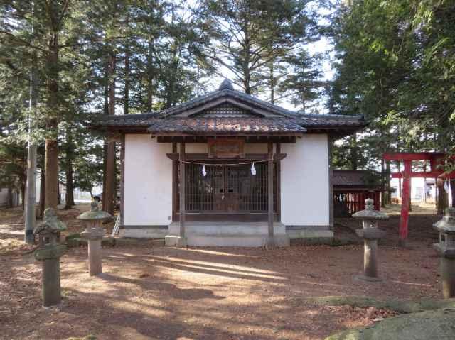 幸神社拝殿