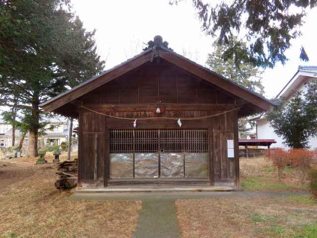 横和神社拝殿