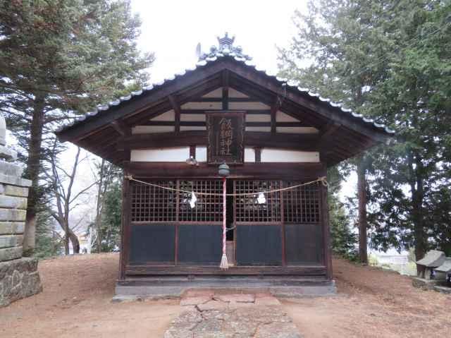 飯綱神社拝殿