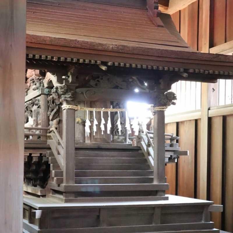 木野目稲荷神社御本殿