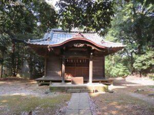 大雷神社拝殿
