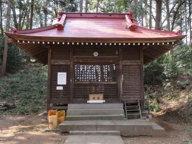 冑山神社拝殿