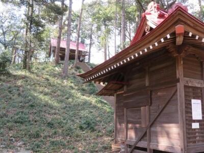 冑山神社本殿