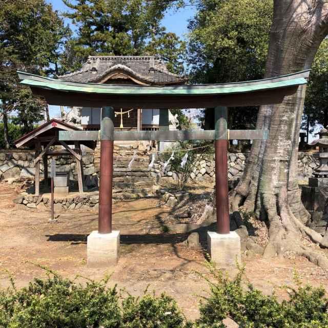 西大澤神社鳥居