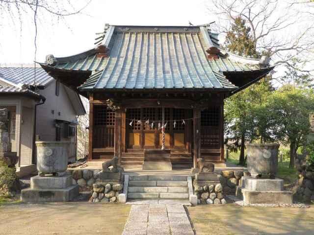 八幡若宮八幡神社拝殿