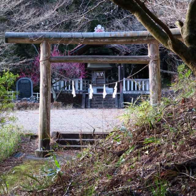 山神社鳥居