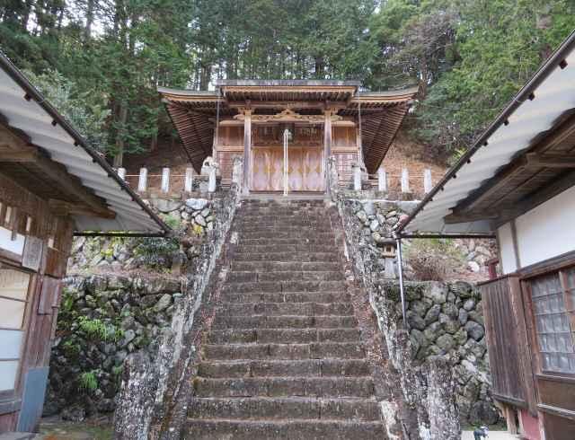 氷室山神社里宮拝殿