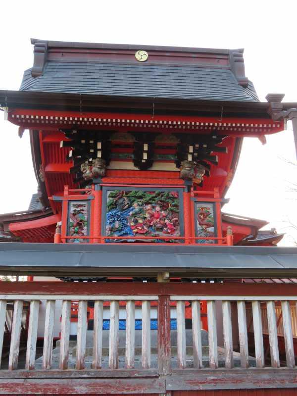 浅間神社本殿