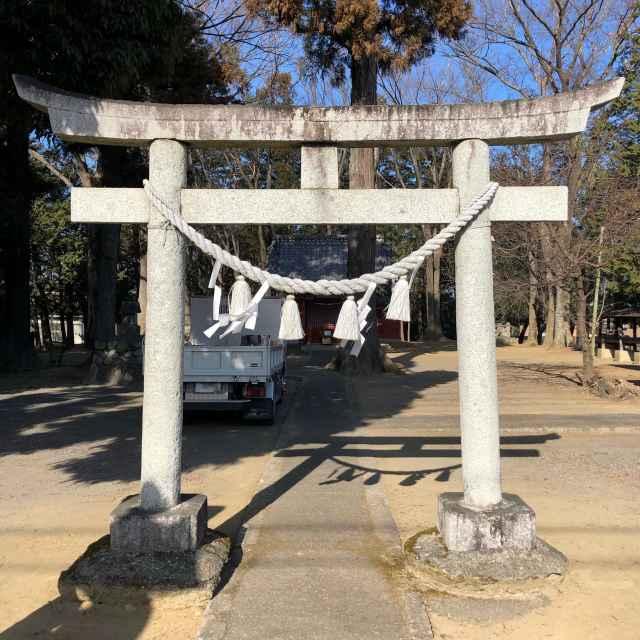 白鬚神社鳥居