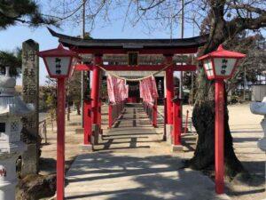 八斗島稲荷神社鳥居