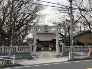 清瀧神社鳥居