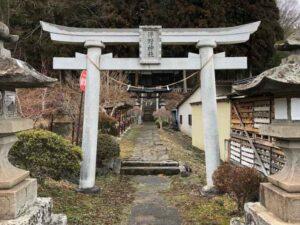 伴野神社一の鳥居