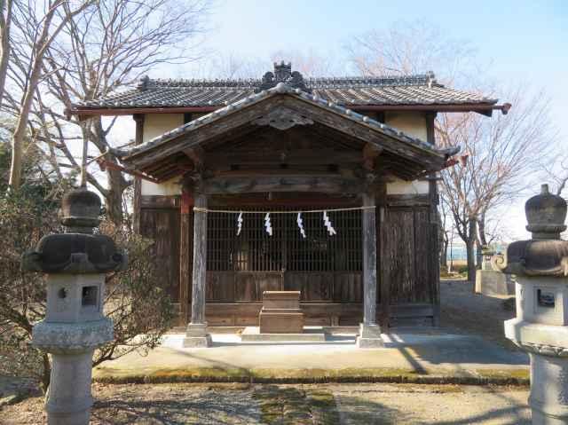 阿保神社拝殿