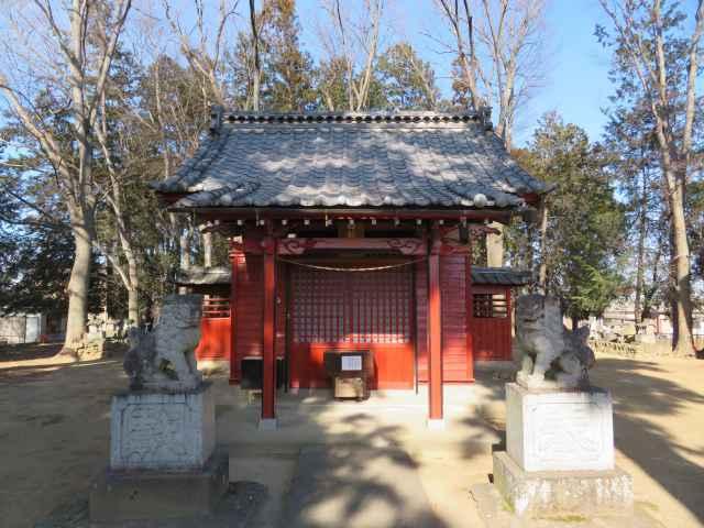 白鬚神社拝殿