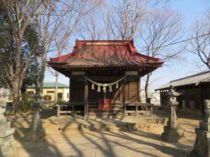 七本木神社拝殿