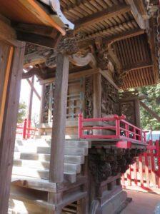 八斗島稲荷神社御本殿