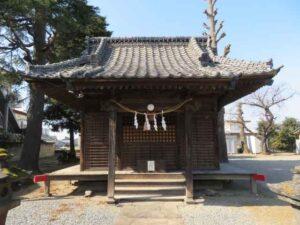 戸谷塚諏訪神社拝殿