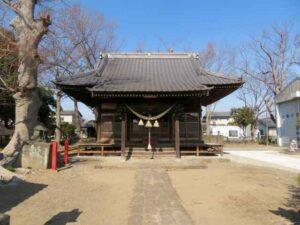 角渕八幡宮拝殿