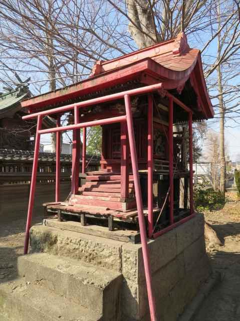 稲荷神社 諏訪神社境内社