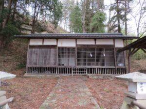伴野神社拝殿