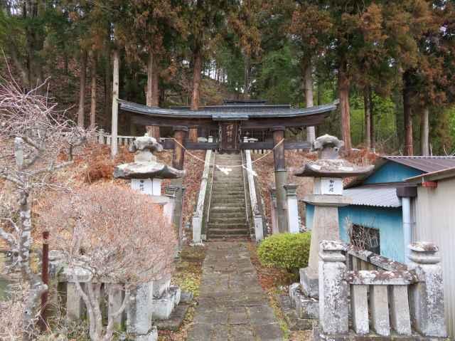 伴野神社二の鳥居