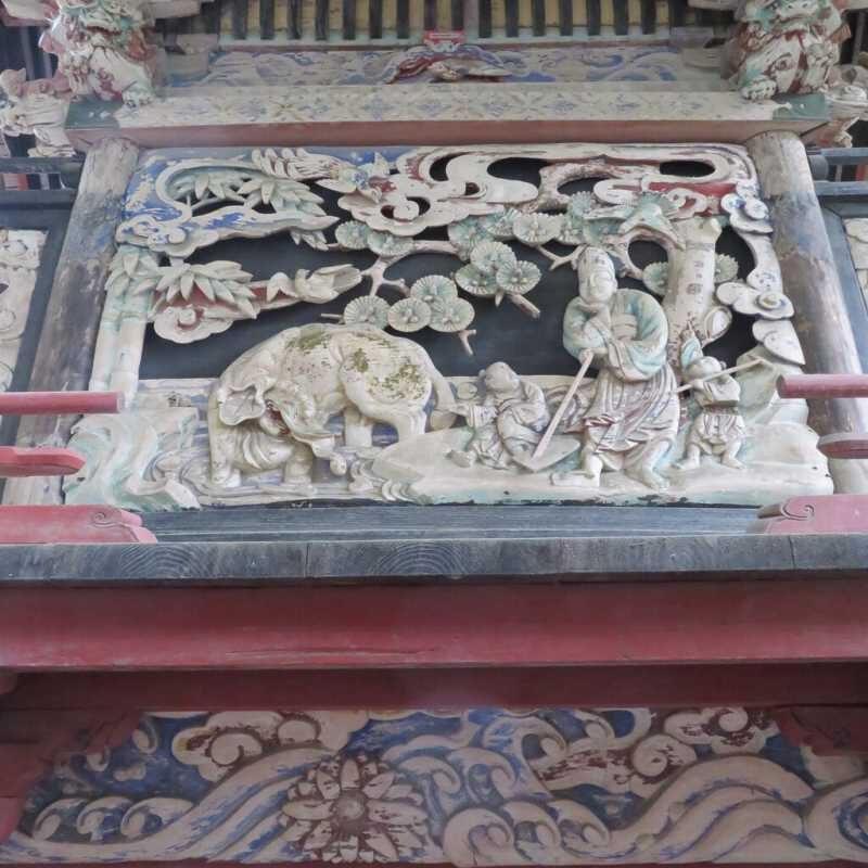 宇都宮神社御本殿背面