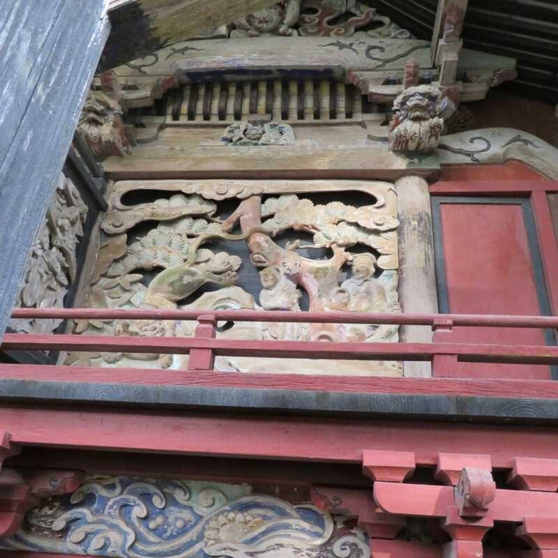 宇都宮神社御本殿左面