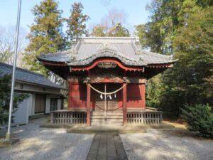 榊神社拝殿