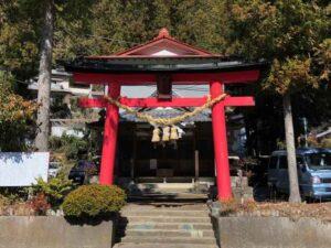 中山神社鳥居