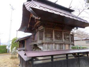 諏訪神社御本殿