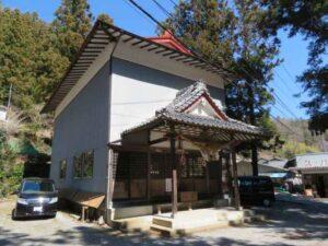 中山神社本殿覆屋
