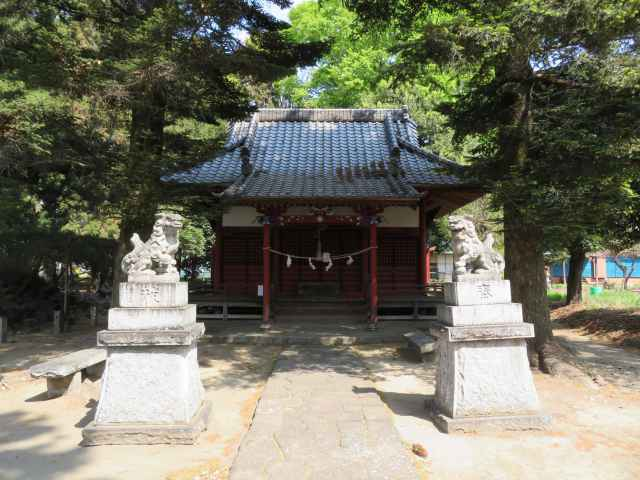 上野國八乃宮 火雷神社拝殿