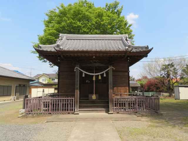飯玉神社拝殿