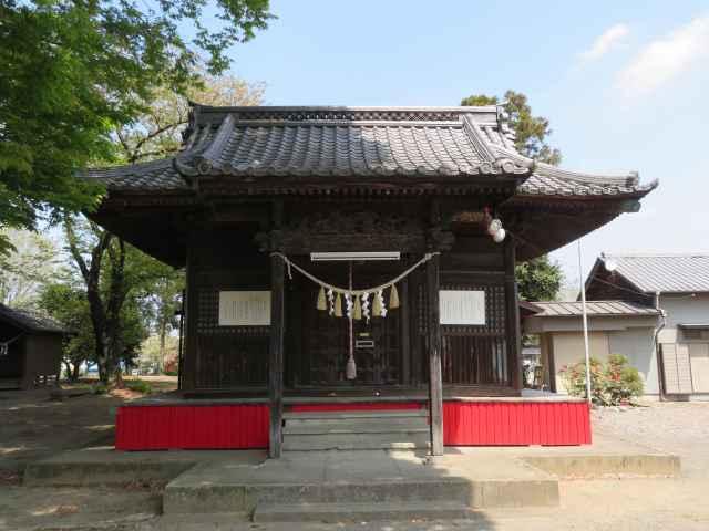 田中 諏訪神社拝殿
